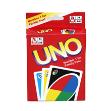 Funny Entertainment Board Game UNO Poker Card Playing Poker Chips Set Cards Puzzle Games 108 Pcs