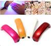 Professional 9W Rainbow UV LED Nail Lamp Dryer Light for Shellac Gel Nail Art