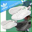 [M type] Free Shipping Adidas Stan / adidas STAN SMITH / Men's sneakers shoes shoes / US model Adidas Originals Men's Women's green navy black regular goods