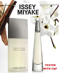 [♥ TESTER ♥] Perfume LEau dIssey Pour Homme Issey_Miyake for men EDT SPRAY 125 ML  ♥ WITH CAP ♥ / WOMEN EDT SPRAY 100 ML ♥ NO CAP ♥