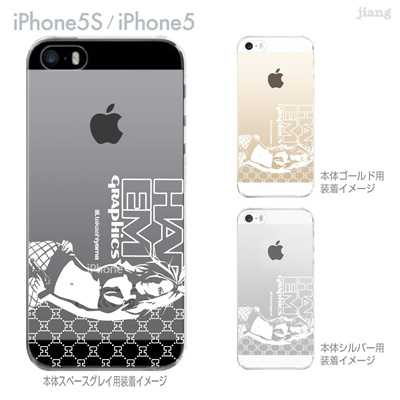 【iPhone5S】【iPhone5】【HAREM graphics】【iPhone5sケース】【カバー】【スマホケース】【クリアケース】 hgx-ip5s-059の画像