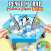[Japan Hottest Game] Penguin Trap Crush Ice Game | 6 years old to 100 years old | Family Fun