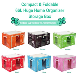 66L Compact/Foldable Home Organizer / Storage box