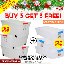 [BUY-3-GET-3]Toyogo Christmas Ideal Gift (Storage Bundles) W21