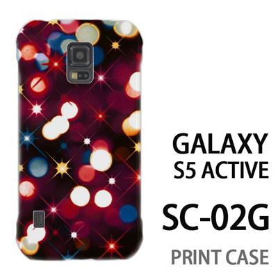 GALAXY S5 Active SC-02G 用『0110 ネオン 赤』特殊印刷ケース【 galaxy s5 active SC-02G sc02g SC02G galaxys5 ギャラクシー ギャラクシーs5 アクティブ docomo ケース プリント カバー スマホケース スマホカバー】の画像