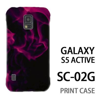 GALAXY S5 Active SC-02G 用『No3 紫煙』特殊印刷ケース【 galaxy s5 active SC-02G sc02g SC02G galaxys5 ギャラクシー ギャラクシーs5 アクティブ docomo ケース プリント カバー スマホケース スマホカバー】の画像