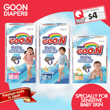 [GOO.N] Japan Version Diapers | Specially For Sensitive Baby Skin