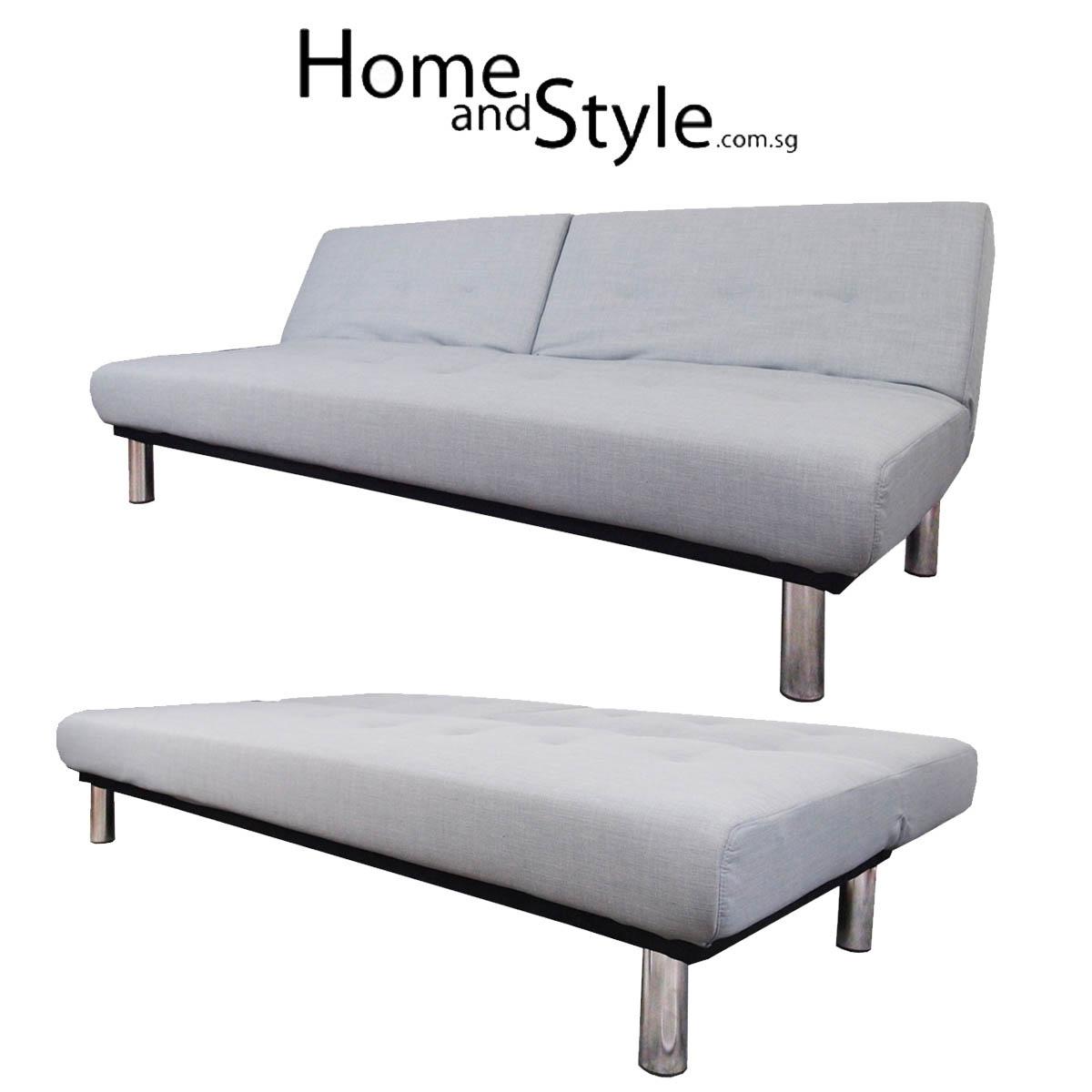 Sofa Bed Qoo10: SALE Everton Designer SOFA BED. 1 Year Warranty
