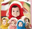 数量限定!【メール便・送料無料】ニット帽子★幼児帽子、キッズ、kidsキッズ、 子供 帽子 男の子、女の子、子供 帽子
