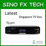 freesat v9 pro Special for Singapore cable tv box upgrade from v8 full hd