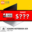 | NEW!] XIAOMI NOTEBOOK AIR 12.5INCH FHD / INTEL CORE M3 PROCESSOR / WINDOWS 10 / 4GB + 128GB