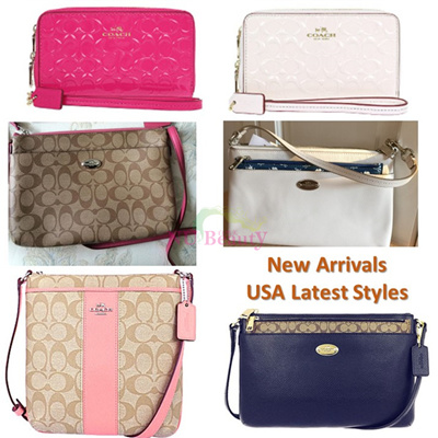 dcf6eb9145e8  Nu Beauty Coach Handbag   Clutch Bag   Shoulder Bag   Crossbody Bags    Wallet   Small Wristlets  100% Authentic Brand Items  and Coach Gift boxes  from USA ...