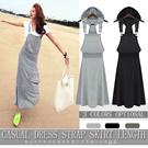 MM28 Leisure sleeveless vest dress skirt dress skirt dress loose sand big skirt