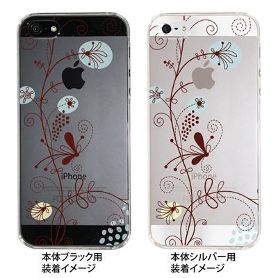 【iPhone5S】【iPhone5】【Clear Fashion】【iPhone5ケース】【カバー】【スマホケース】【クリアケース】【フラワー】 22-ip5-ca0028の画像
