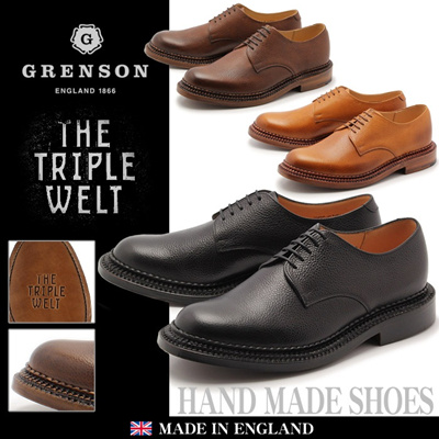 グレンソン カート トリプルウェルト CURT TRIPLE WELT 5199G プレーントゥ シューズ メンズの画像