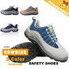 ☆France DELTAPLUS Authentic◆Non Slip n Breathable Outdoor n Safety Shoes for Unisex◆Cowhide+Lycra Mesh Material Safety Work Shoes/ 35~46 Sizes/ 3 styles-301216 model etc.
