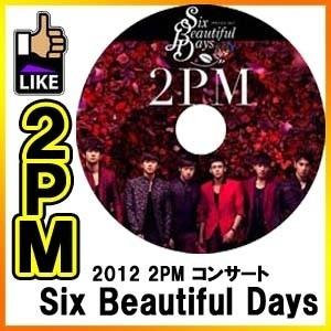 ◆K-POP DVD◆2PM ツーピーエム 2012 コンサート Six Beautiful Days DVD / Jun.K ニックン テギョン ウヨン ジュノ チャンソンの画像
