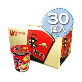 八道韓国食品がお届けする、本場の韓国食品・韓国食材!!■韓国のカップ辛ラーメン・1Box30個■【韓国食品・韓国食材】の画像