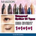 Korean Best Eyeliner 1+1+1+1 Event★ [Tosowoong] Makeon Waterproof Eyeliner 26 Types / waterproof Little Mermaid / Eyeliner + Shadow
