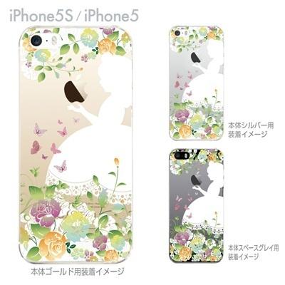【iPhone5Sケース】【iPhone5ケース】【Clear Arts】【スマホケース】【iPhone ケース】【クリアケース】【クリア カバー】【クリアーアーツ】【ハードケース】【イラスト】【白雪姫】【着せ替え】 08-ip5-ca0100b-ogの画像