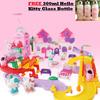 NEW product!Hello Kitty Season Train set  aeroplane/gift/light/music/98x50x10cm