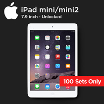 Factory Refurbished IPAD MINI mini2 Cell Super deep discount for the first 100 sets only !!! Special update ipad mini 7.9 inch Cheapest WIFI Tablet