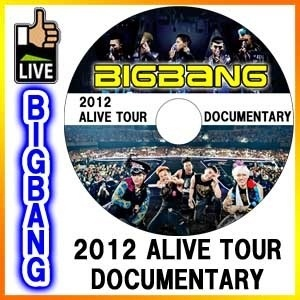◆K-POP DVD◆BIGBANG 2012 ALIVE TOUR DOCUMETARY DVD / ビッグバン TOP G-DRAGON SOL V.I D-LITEの画像
