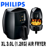 Philips Advance Collection XL Airfryer (HD9240-90) Low-Fat Air Fryer Multi-cooker 1.2 KG Black with Rapid Air technology