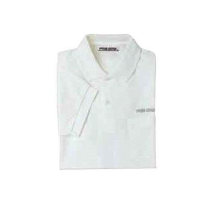 ABS(アメリカン ボウリング サービス) ポロシャツ P-600 ホワイト 【Pro-ama ボウリングウェア メンズ レディース ボーリング】の画像