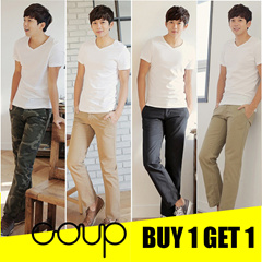 SPECIAL PROMO BUY 1 GET 1 FREE - [COUP] Korean Authentic Design / Men Long Pants Collection