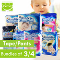 [Bundle Sales][MAMYPOKO] Mamy Poko Extra Dry Diapers Size NB/S/M/L/XL/XXL Extra Soft Pants M/L/XL/XXL/XXXL Boys/Girls Bundle of 3 or 4