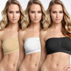 Seamless Comfortable Bandeau Bra / Strapless Tube / Great for Layering