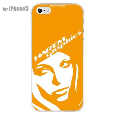 【iPhone5S】【iPhone5】【HAREM graphics】【iPhone5ケース】【カバー】【スマホケース】【クリアケース】 HGX-IP5C-021Gの画像