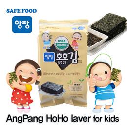 [AngPang]★HoHo laver★ Roasted dried laver/seaweed/laver/korea/side dish/riceball/snack/beer/korea premium sea food/SBA_079