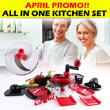 [APRIL PROMO!!] ★ ALL IN ONE KITCHEN SET ★