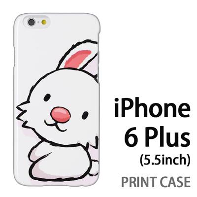 iPhone6 Plus (5.5インチ) 用『0723 干支 卯』特殊印刷ケース【 iphone6 plus iphone アイフォン アイフォン6 プラス au docomo softbank Apple ケース プリント カバー スマホケース スマホカバー 】の画像