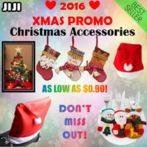 ❤2016 XMAS Special!❤ ★ Christmas Accessories ★ Santa Claus Party Hat ★ Adult and Children Size ★ Cutlery Holder ★ Santa/Snowman/Reindeer ★ Gifts [JIJI]