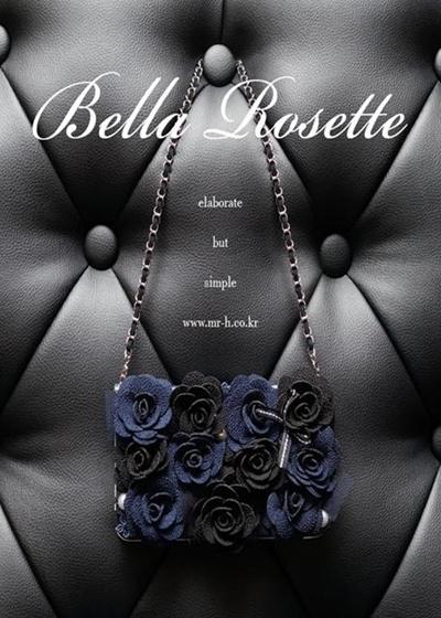 【iPhone/GALAXY/GALAXY Note/LG G2ケース】Mr.H Bella Rosette Diary オリジナル ハンドメイド ダイアリー (※チェーンは別売り)【レビューを書いてネコポス送料無料】の画像