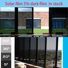 Dark film solar 5% .solar 10 /The cheapest Solar window film /Freetool For HDB/Cond/Apart