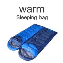 ▶BSWolf/北山狼 Professional skill made Warm Sleeping Bag◀GCE Don′t worry cold weather in outdoor camping/ High Quality Sleeping Bag