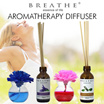FREE SHIPING! No option prices! BREATHE Reeds Flower Diffuser 5 types ❤❤Lavender/Ylang Ylang/Sandalwood/Rose/Lemongrass 60ml