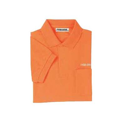 ABS(アメリカン ボウリング サービス) ポロシャツ P-602 オレンジ 【Pro-ama ボウリングウェア メンズ レディース ボーリング】の画像
