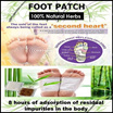Foot Patch/Foot Mask Lanna Gold Princess Thai Korean Premium Natural Detox Foot Patch/Improve Sleep