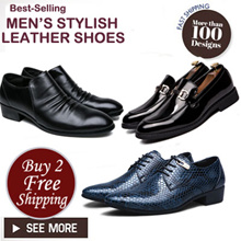 ★Men Leather shoes★Mens Shoes★Dress Shoes★PLUS Size Shoes★ Business wedding shoes