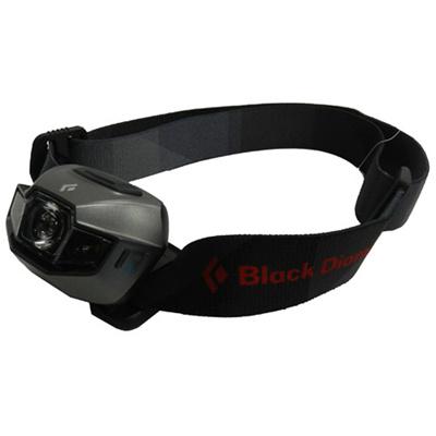 ◆即納◆ブラックダイヤモンド(BlackDiamond) スポット ヘッドランプ BD620612 チタン/TITANIUM 【ヘッドライト アウトドア キャンプ 登山 SPOT】の画像