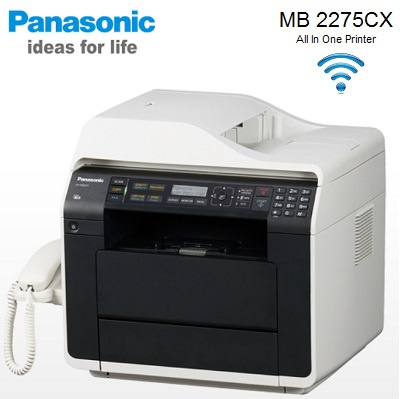 how to connect panasonic printer to computer