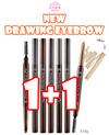 [ETUDE HOUSE]★1+1★DRAWING EYEBROW[Dark Brown/Gray Brown/Brown/Dark Gray/Gray/Black/Light Brown]