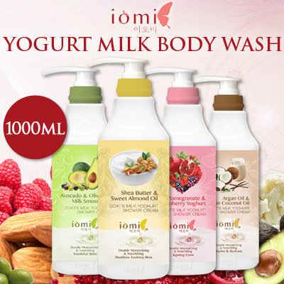 Free Delivery! U.P. 1 FOR $12.90 NEW KOREA IOMI Yogurt Milk Body Wash Series 1000ml+1000ml Deals for only S$25 instead of S$0