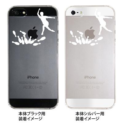 【iPhone5S】【iPhone5】【iPhone5ケース】【カバー】【スマホケース】【クリアケース】【ボウリング】 ip5-06-ca0018の画像