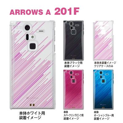【ARROWS ケース】【201F】【Soft Bank】【カバー】【スマホケース】【クリアケース】【クリアーアーツ】【トランスペアレンツ】【カラーズ・ピンク】【スピード】 06-201f-ca0031o-pの画像